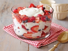 Angel Food Cake and Berry Trifle