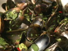 Thai-Flavored Mussels