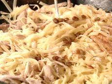 Tagliatelle with Chicken