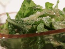 Romaine Salad with Parmesan Vinaigrette