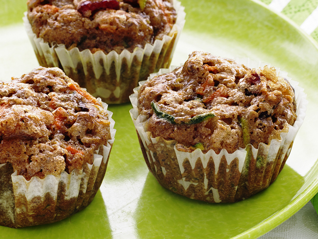 Magic Fruit-and-Veggie Cupcakes