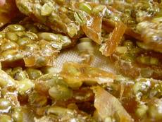 Dry Roasted Edamame Brittle