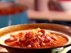 Portuguese Sausage and Bean Stew