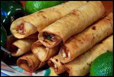 Chicken Lime Taquitos