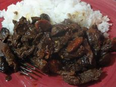 Sichuan-Style Spicy Orange Beef