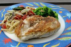 Simple Pan-fried Chicken Breasts