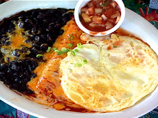 Enchilada and Eggs