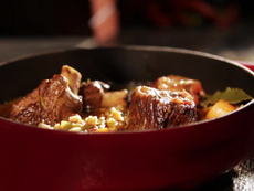 Stout Braised Short Ribs with Barley