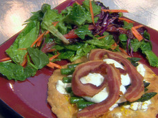 Grilled Asparagus Tart