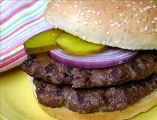"""""""Grilled"""" Venison Burgers"""