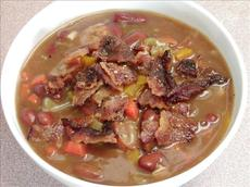 It's Cold Outside Bean and Sausage Chowder