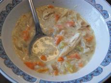 Minnesota Cream of Chicken & Wild Rice Soup