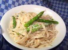 Fettuccine With Fresh Asparagus and Lemon Cream