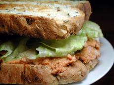 Budgeted Tuna Salad Sandwich