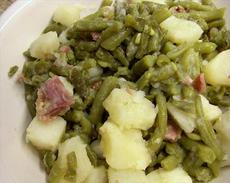 Old South Green Beans and Potatoes