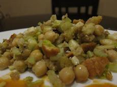 Spicy Moroccan Bread Salad