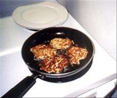 Fried Potato and Onion Patties