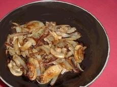 Mushrooms and Onions for Steak