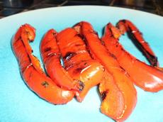 Super Easy: Grilled Bell Peppers