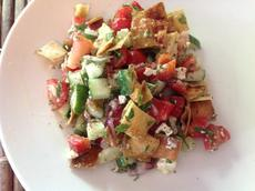 Greek Pita Salad