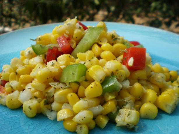 Sweet Corn Pepper Salsa