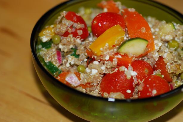 Feta & Oregano Quinoa Salad