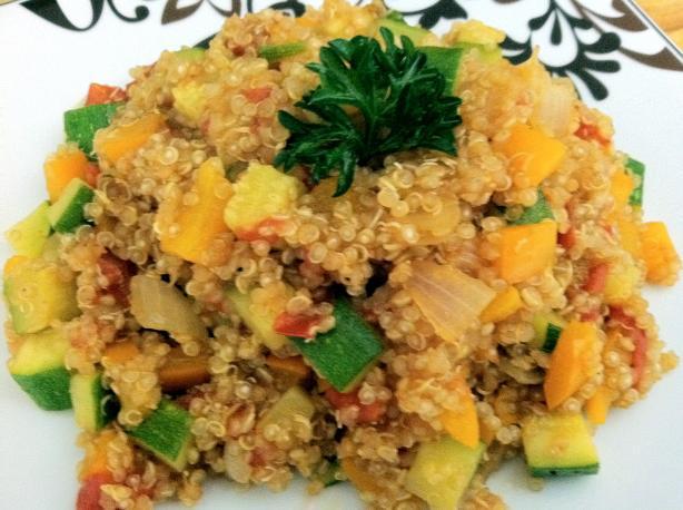 Vegitarian Quinoa Pilaf