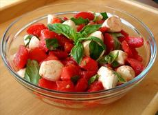 Fresh Tomato & Mozzarella Salad