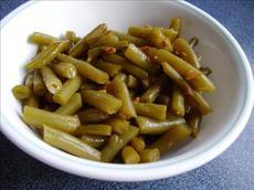 Teresa's Garlic Green Beans