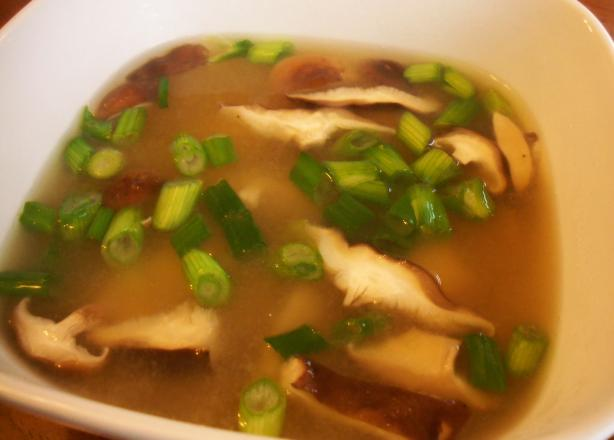 Miso Shiitake Breakfast Soup