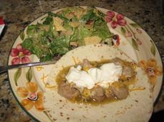 Mexican-Style Tortilla Salad