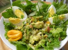 Floridanatives Salsa Avocado and Egg Salad