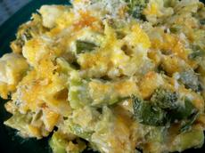 Broccoli-Cauliflower Gratin (Scd)