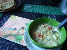 Vegan Corn & Vegetable Chowder