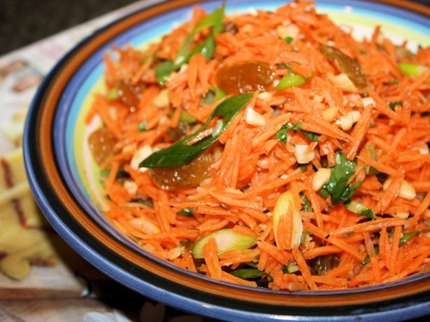 Carrot and Golden Raisin (Sultana) Salad