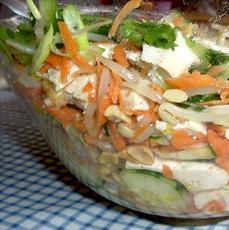 Shanghai Tofu and Peanut Salad