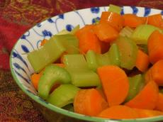 Simple Carrots and Celery Side Dish