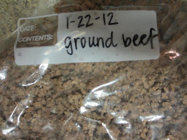 Seasoned Ground Beef - OAMC