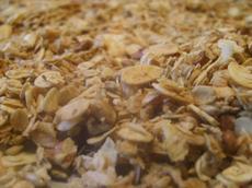 Nutty Fruit Free Granola