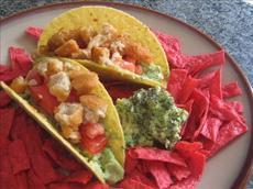 """5 Minute Easy Vegan """" Chicken"""" Guacamole Tacos"""