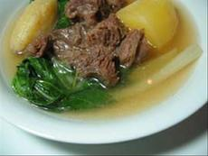 Nilagang Pata/Baka (Filipino Pork/Beef Broth Soup W/ Vegetables