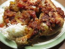 Crock Pot -Saucy Italian Chicken Thighs