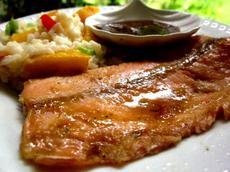 Applebee's Honey Grilled Salmon