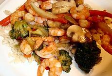 Sweet and Spicy Shrimp Stir-Fry