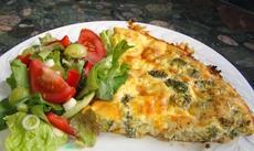 Broccoli and Cheese Pie / Quiche