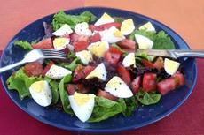 Nemo's Egg and Tomato Salad