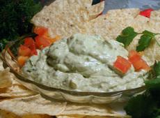 Guacamole Cheese Dip