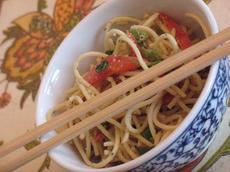 Peanut-Lime Noodle Salad