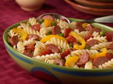 Hearty Pasta Dinner Salad