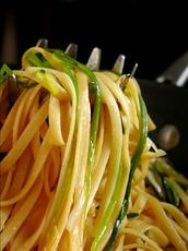Linguine With Green Onions